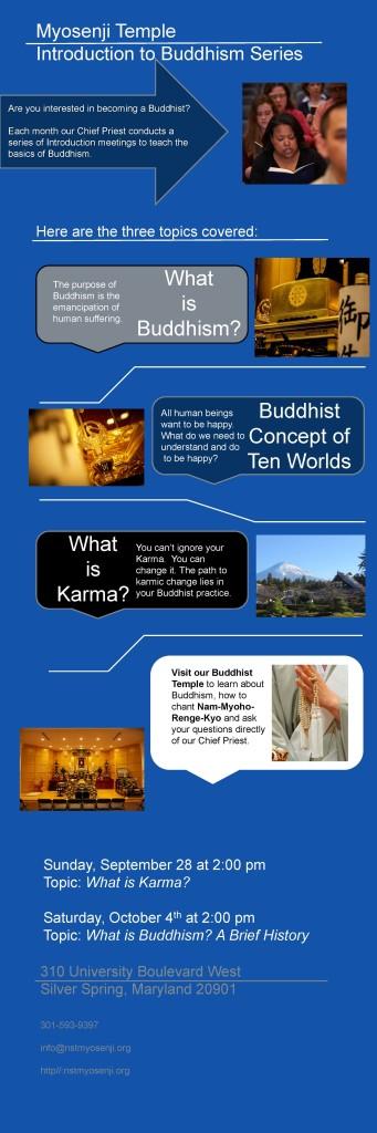 Intro to Buddhism Infographic