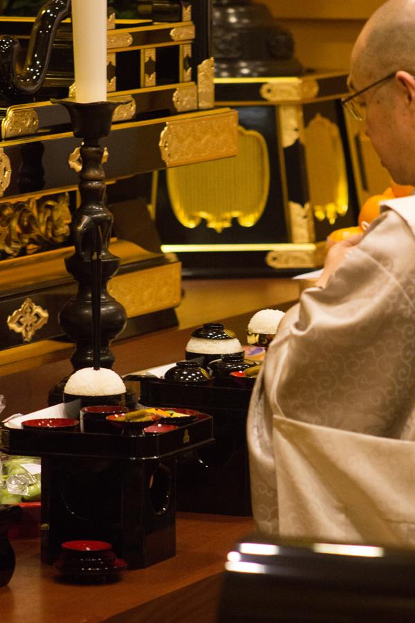 Buddhist Temple Ceremony Dec 13 2015