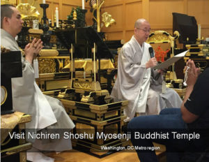 Visit our Buddhist Temple